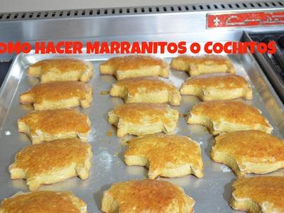 Cómo hacer cochitos, marranitos o puerquitos - CHUCHEMAN1 - 2015