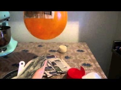 Cómo hacer piñata navideña con engrudo y un globo Parte 1.2 - La receta de la abuelita