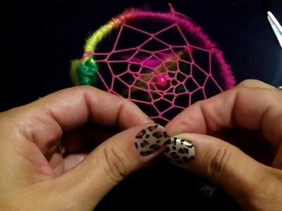 Como hacer un atrapasueños: DIY. Dream Catcher