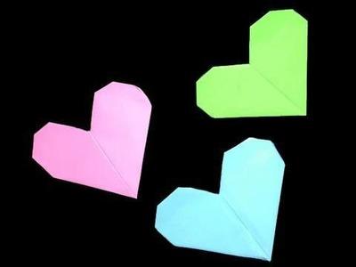 Cómo hacer un  corazón de papel