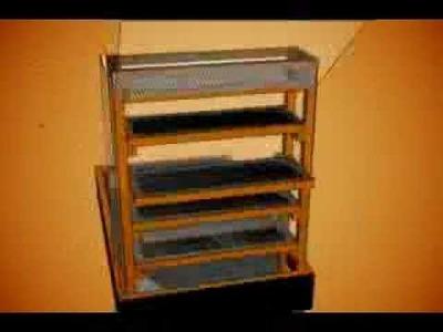 Cómo hacer un deshidratador solar casero