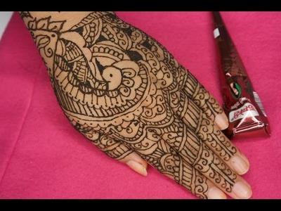 Cómo hacer un tatuaje temporal: Diseño con Henna- Juancarlos960