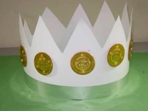 Cómo hacer una corona de rey.principe para su chiquitin