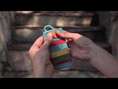 Cómo hacer una funda de ganchillo para el móvil