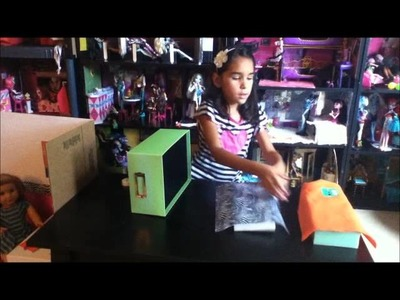 Como hacer una litera para muñecas Monster High - Mimundo MH