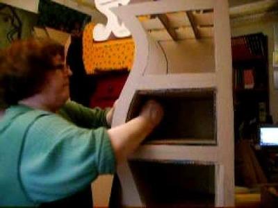 Como se hace un mueble en carton-segunda parte-www.cartonmac.fr