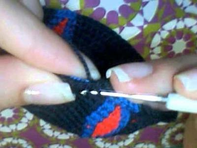 Como tejer una mochila wayuu 3