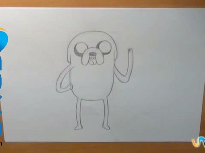 Dibujar a Jake (Hora de Aventura)