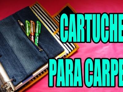 DIY: Cartuchera para carpeta