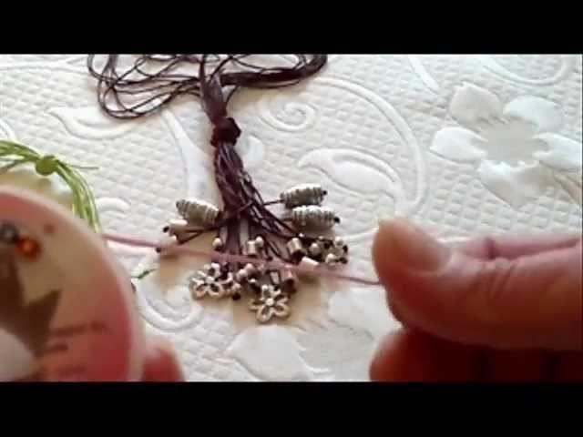 DIY: COMO HACER UN COLLAR ( con hilo de cordón de pesca )