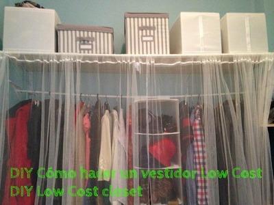 DIY Cómo hacer un vestidor Low Cost - DIY Low Cost closet