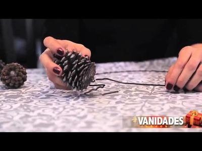 DIY: Cómo hacer una corona de Navidad con piñas | Hazlo tú mismo