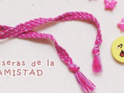 DIY: PULSERAS DE LA AMISTAD 2 (SUPER FÁCIL)