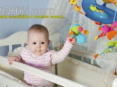 Ideas caseras para decorar un cuarto de bebe, recien nacido - Letras decorativas para bebes