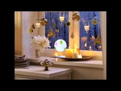 Ideas para decorar ventanas para Navidad