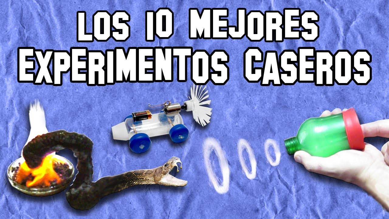 Los 10 Mejores Experimentos Caseros | Top 10 Homemade Experiments
