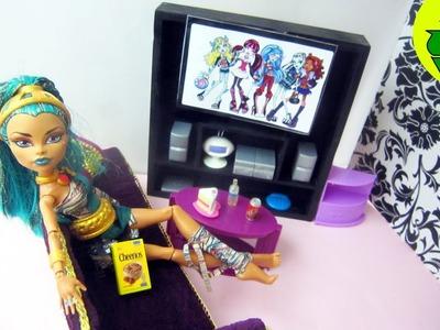 Manualidades para muñecas: Haz una televisión tv