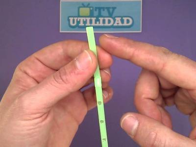 Manualidades: Tu propia flauta con una pajita