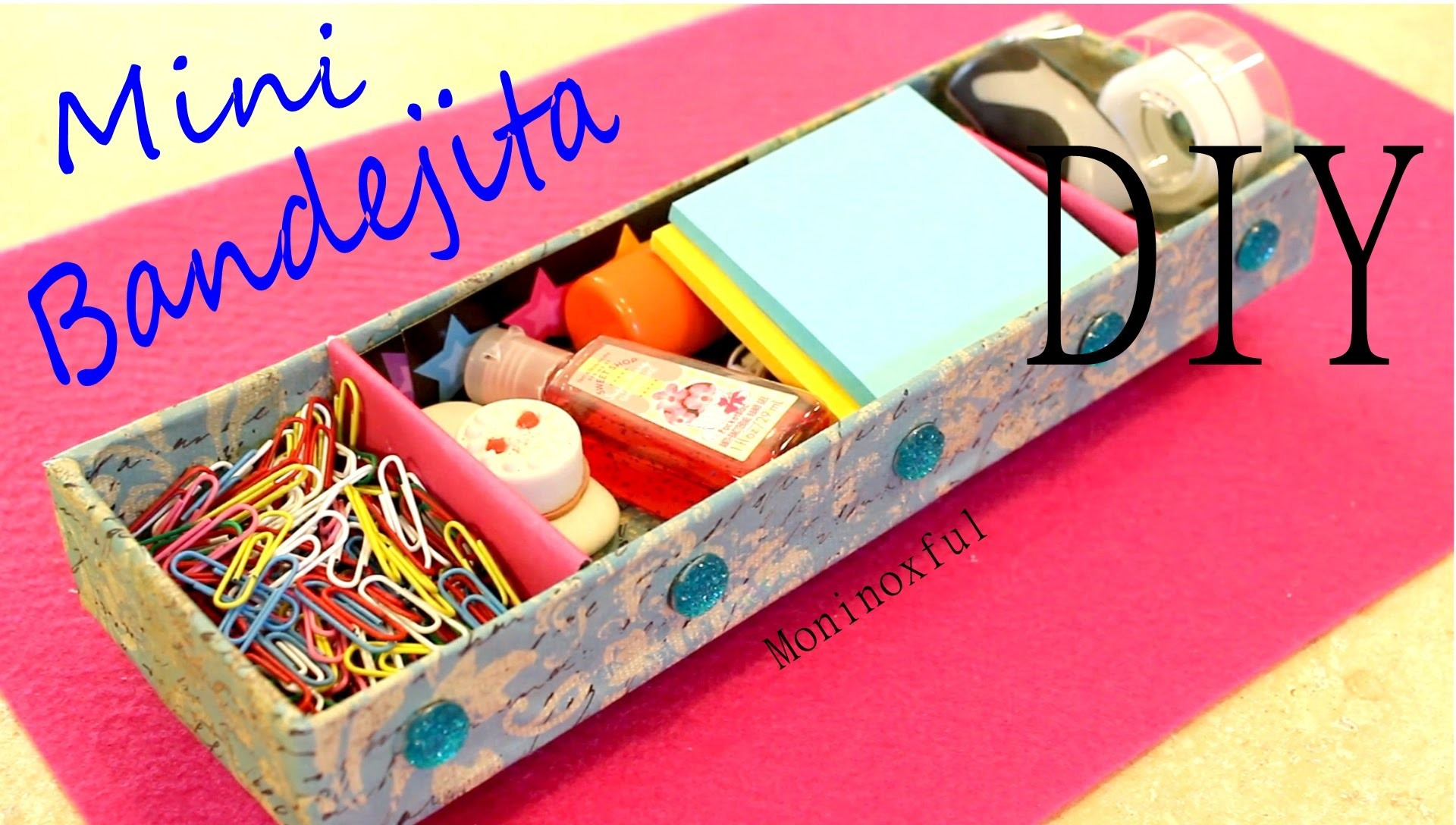 Mini Bandejita para Escritorio - Mini Desk Tray