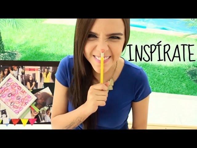 MIRA COMO ME INSPIRO CADA DÍA. DIY  #YOINSPIRO ♥ - Yuya