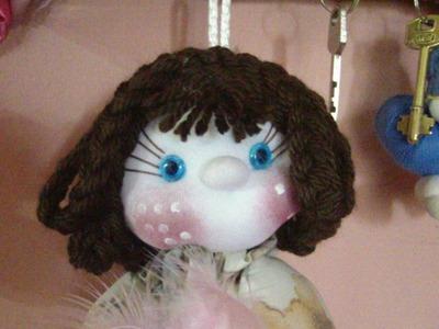 Muñecos Soft. peluca trenzada. proyecto 139