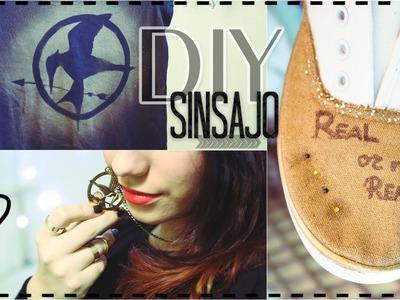 SINSAJO Parte1 - DIY Camiseta y zapatos ♥ Colaboración