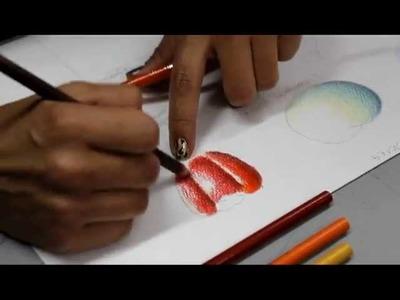 Técnica Lápices de Colores - Clase 14 Mayo