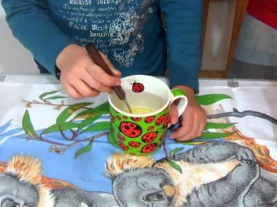 Torta de microondas en 5 minutos