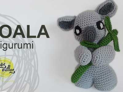 Tutorial Koala Amigurumi (English subtitles)