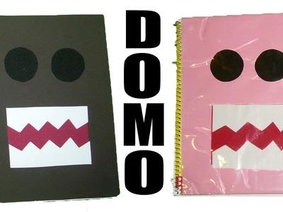 2 Formas de forrar tus cuadernos con Domo. Kawaii