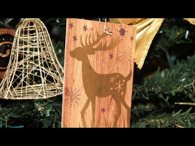 Adornos para el Árbol de Navidad 1: Figuras Colgantes - Christmas Tree Decoration 1: Hanging Figure