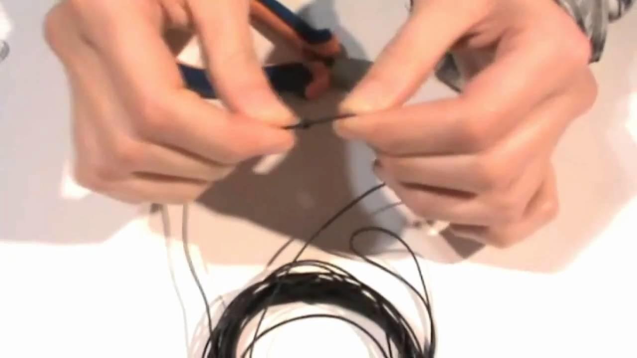 Bisuteria - Pulsera de cuero multi-hilo con cierre calabrote