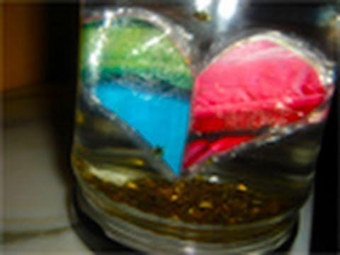 Bola de cristal con corazon y estrellitas || Manualidades para Regalar