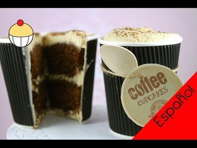 ¡Cupcakes! Haz un CUP-cakes de Café Espresso Latte! My Cupcake Addiction