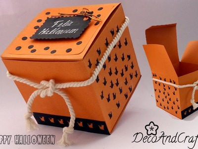 Cajita para Regalo en Halloween [ Box Halloween ]