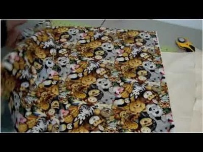 Cómo coser una funda decorativa para almohada - La receta de la abuelita