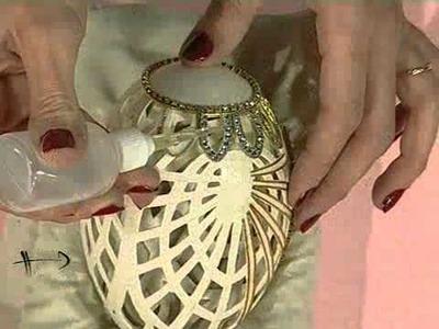 Como hacer un candelabro en Arte Realeggza