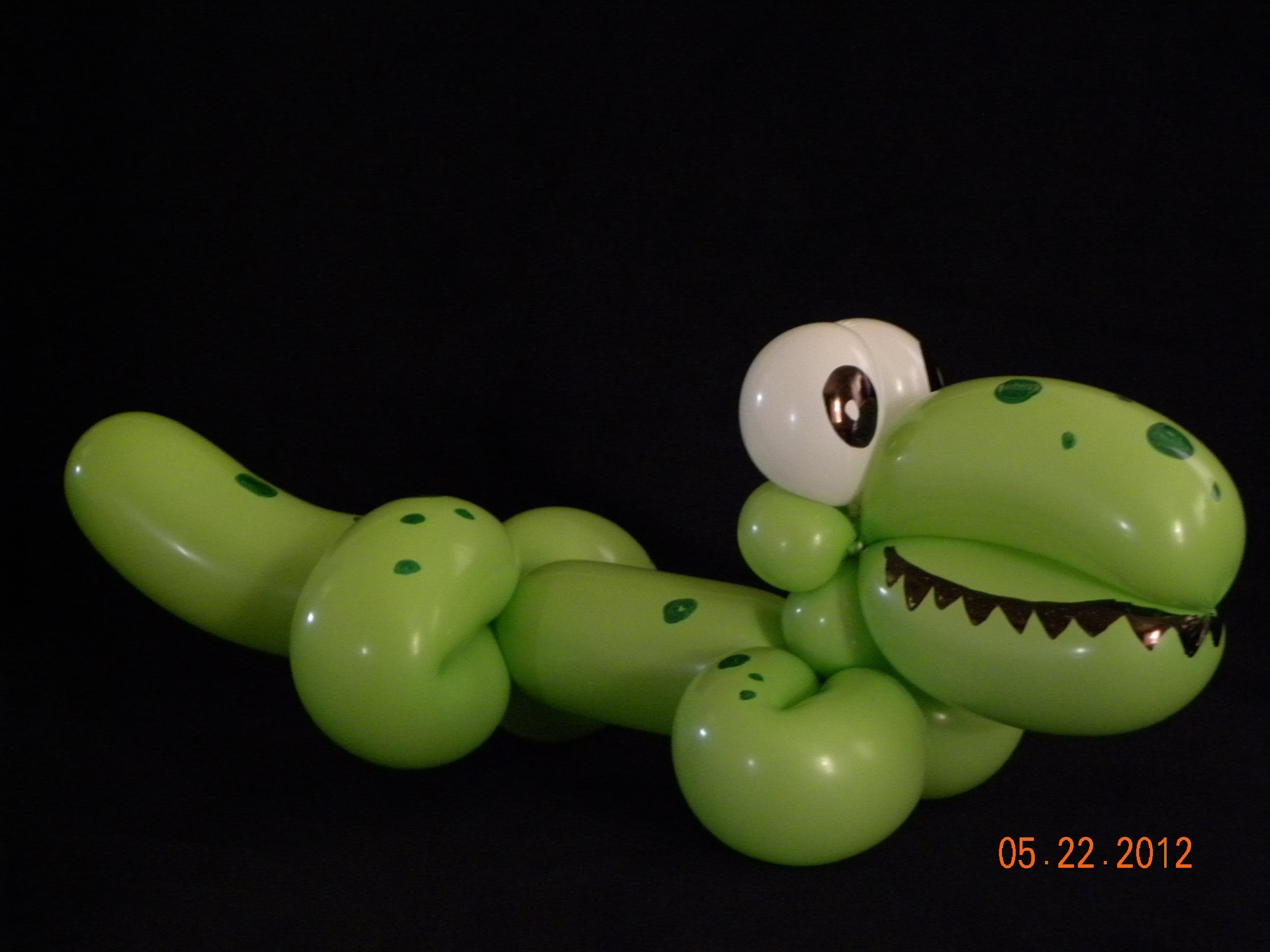 COMO HACER UN COCODRILO.-  HOW TO MAKE A CROCODILE.