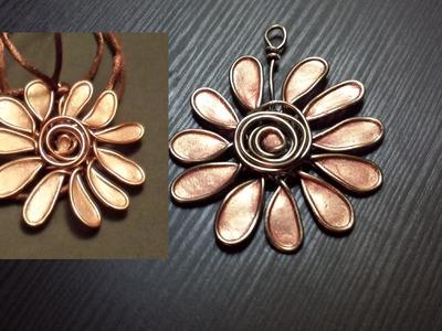 Cómo hacer un colgante de aluminio y esmalte | facilisimo.com