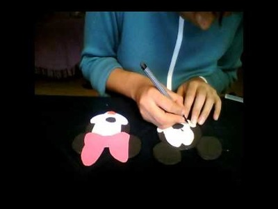 Como hacer un dulceron de mickey mouse.wmv