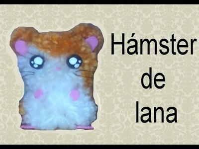 Como hacer un hamster de lana ♥