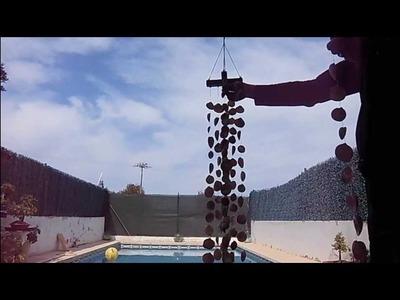 Como hacer un sonajero de viento con conchas marinas de JM-QJ
