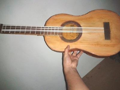 Como hacer una Guitarra Parte 3