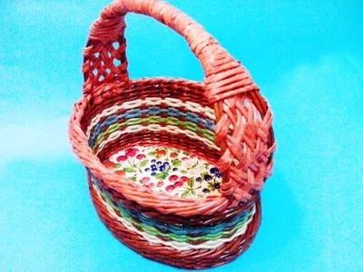 Como tejer un agarradero para una cesta de Pascua. Parte 7.