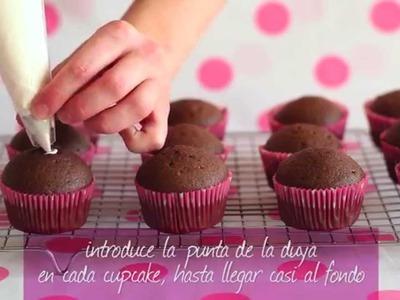 Cupcakes rellenos