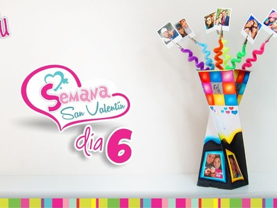 (Day 6) DIY 3 in 1 Twister Gift Box(Picture holder). (Día 6) Caja en Espiral 3 en 1 -Portaretratos-