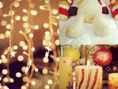Decora tu cuarto! Navidad 2013! + DIY