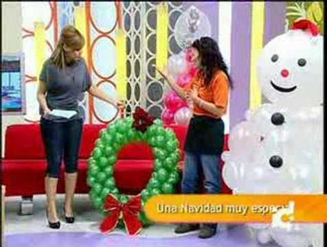 Decoración con Globos Vadeglobos Navidad