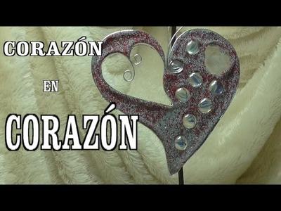 DIY CORAZÓN DE ARENA - HEART TO HEART