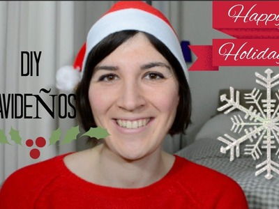 DIY Navidad - Decoraciones de Navidad ♡